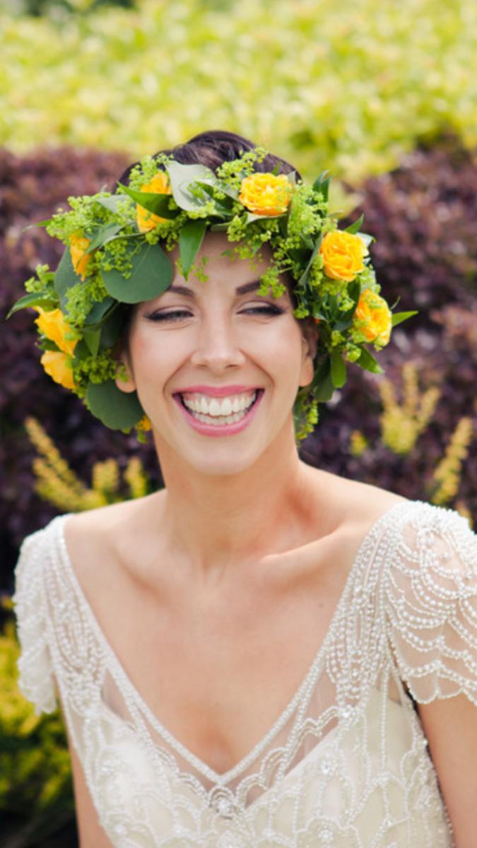 Bridal hair and makeup photoshoot at Bickley Manor