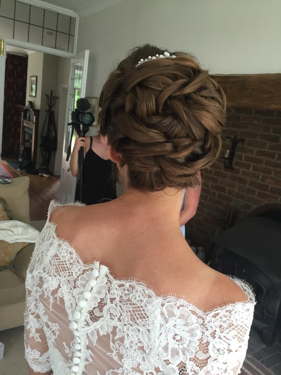 bride hair kent