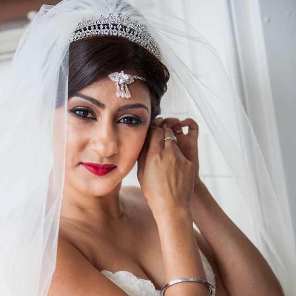 Bridal hair and makeup at Bickey Manor