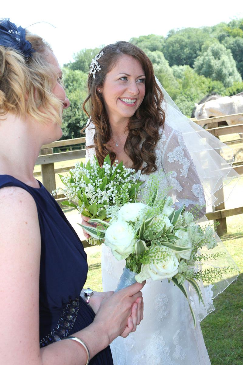 Bride hair and makeup and bridesmaids kent life kent