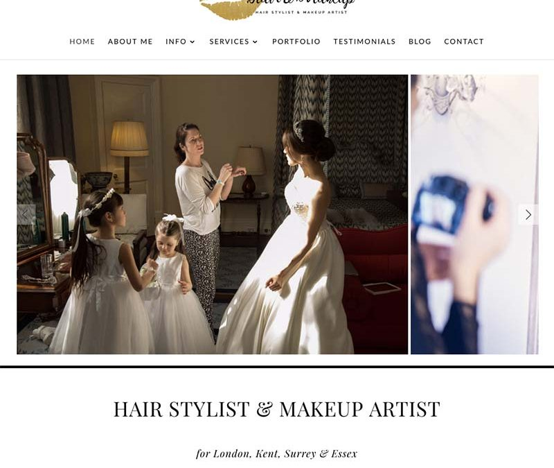 SJB Hair and Makeup | brand new website | Bexleyheath