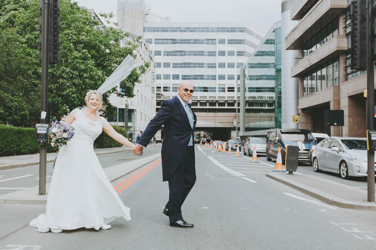 Special London Wedding Makeup - Bride and Groom