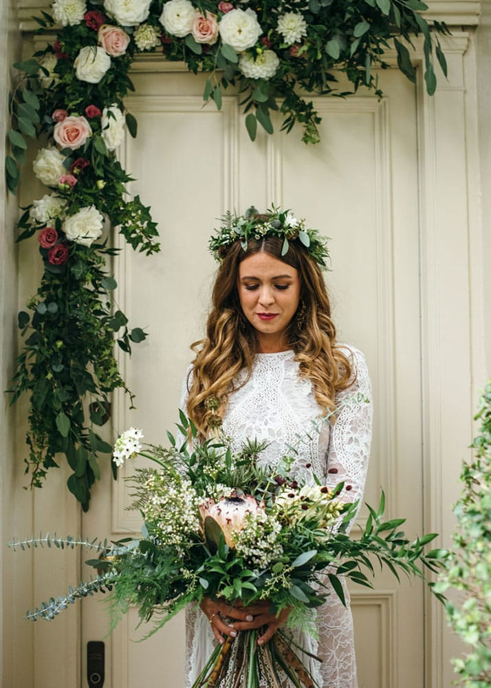 wedding hair and makeup hackney