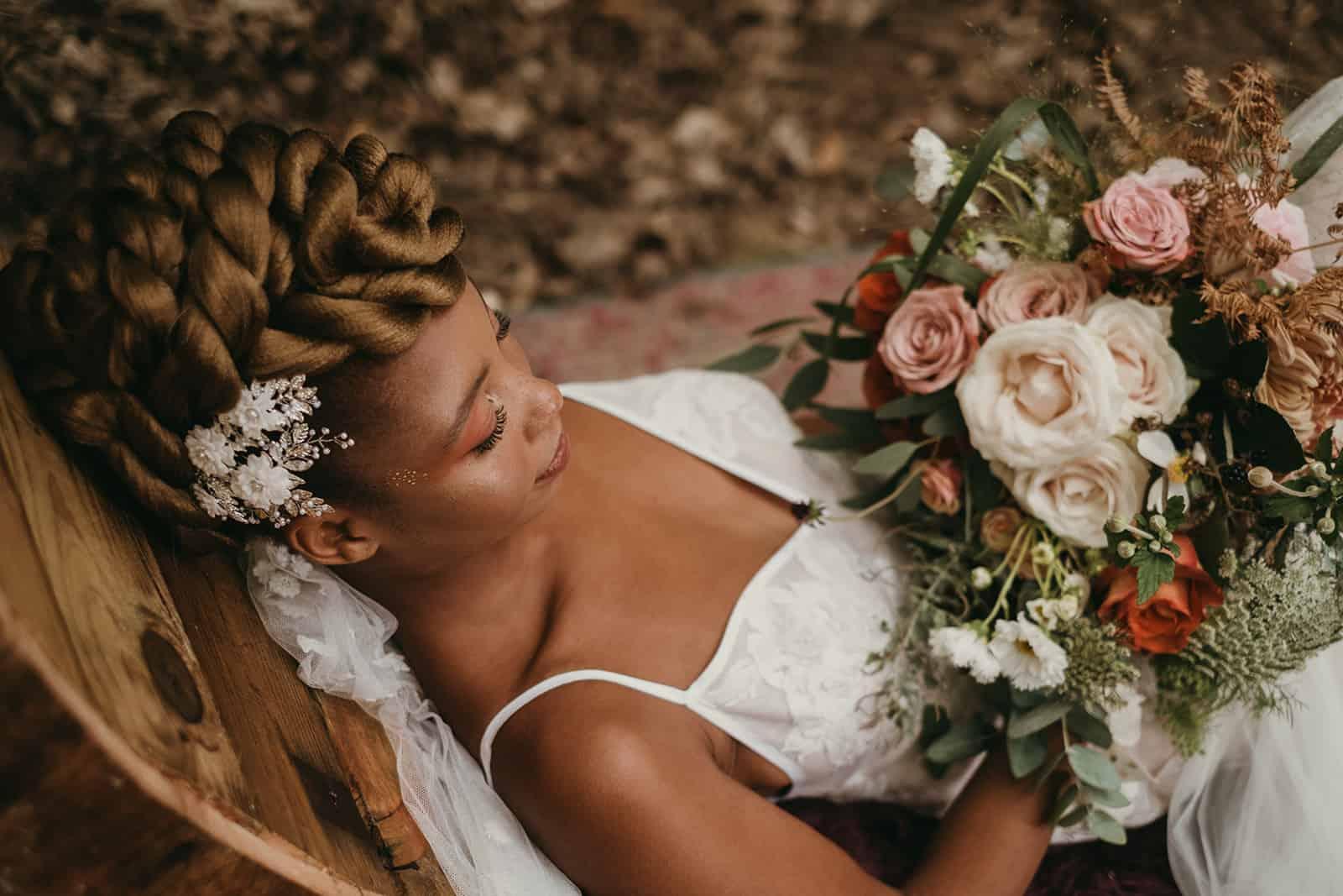 wedding hair and makeup kent