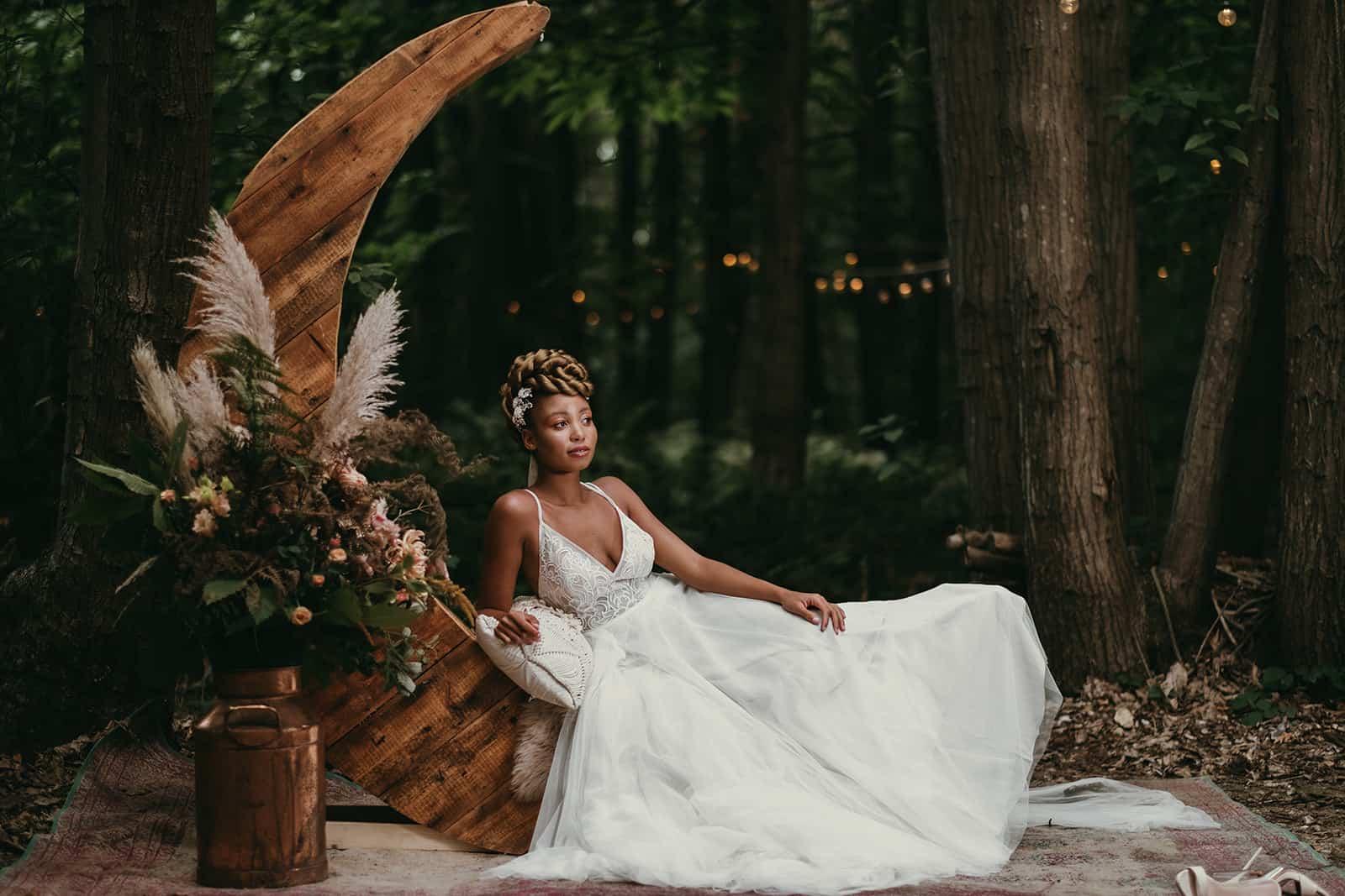 kent boho wedding