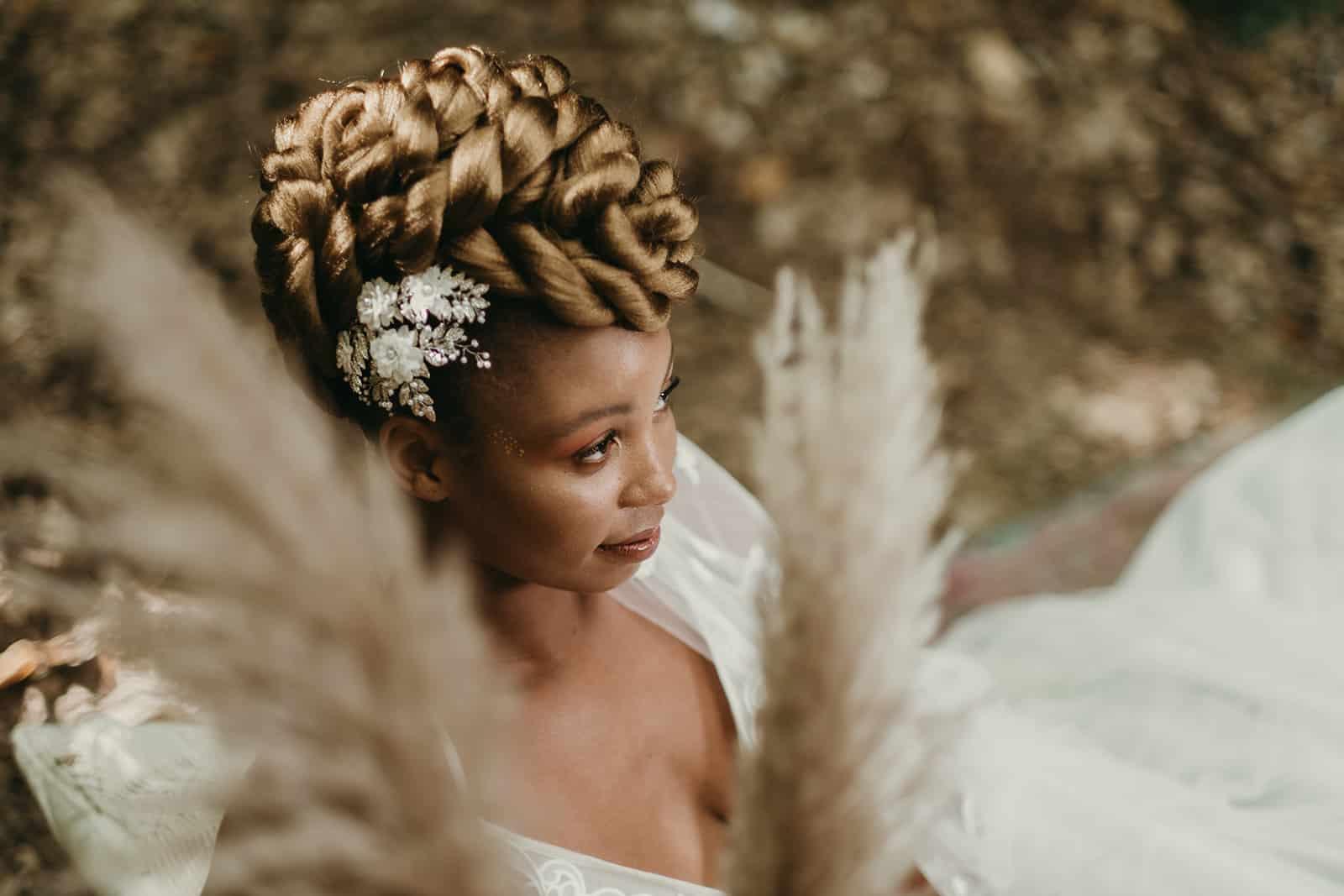 Boho wedding kent at the Dreys