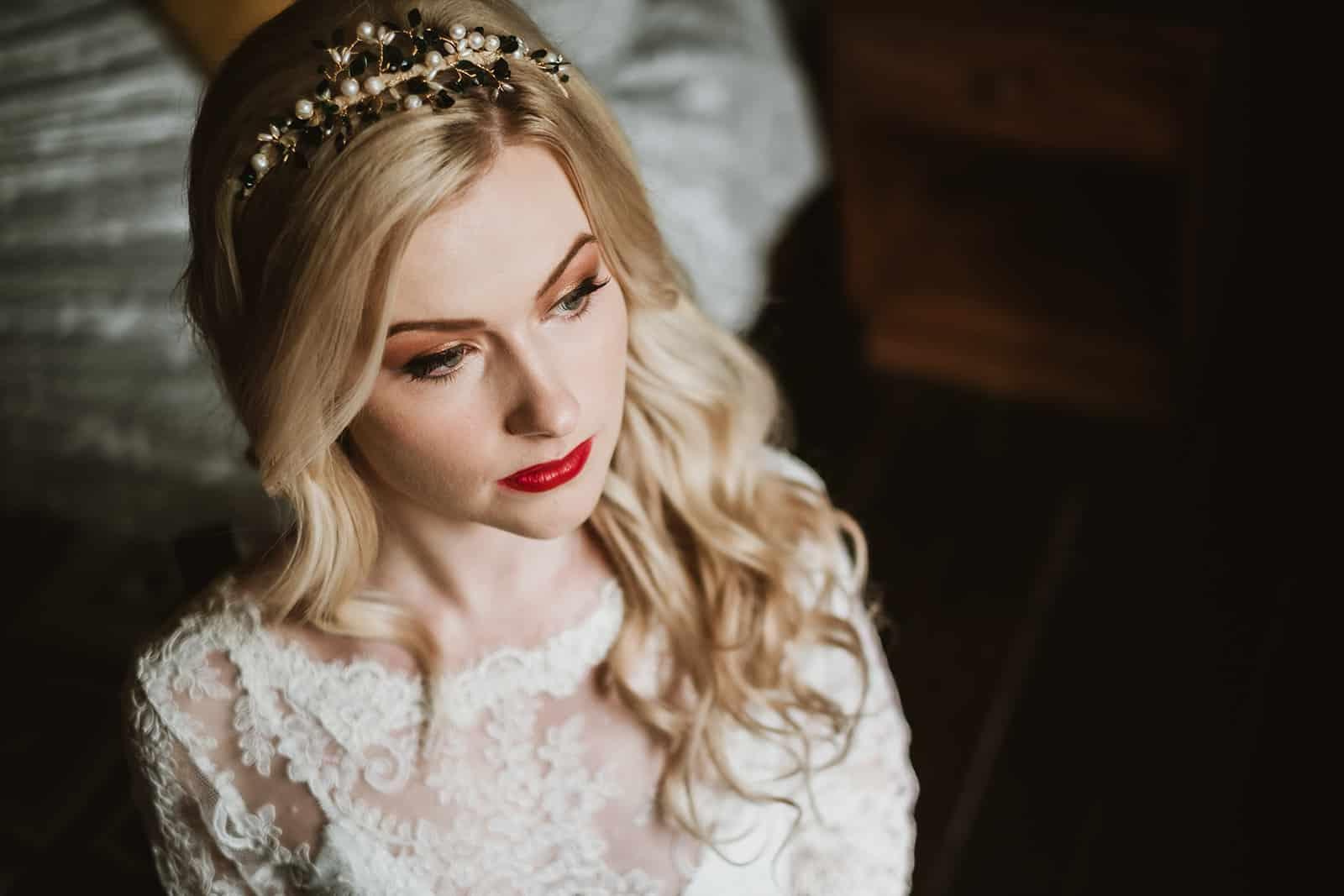 Bride hair and makeup Kent