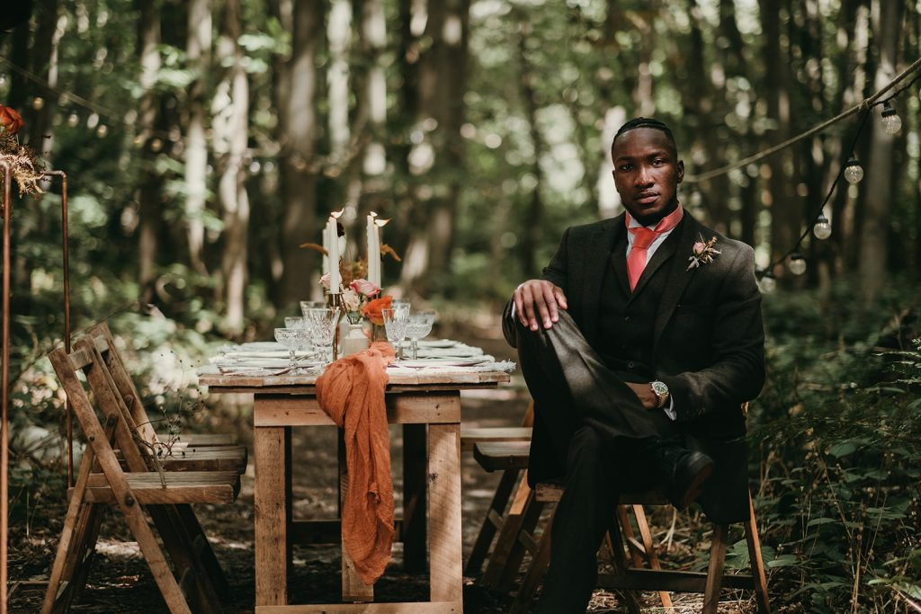 woodland wedding in kent